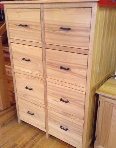 White Ash File Cabinet